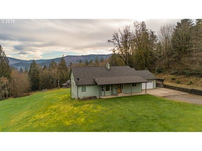 Cowlitz County Single Family Home For Sale: 180 Broken Mountain Dr