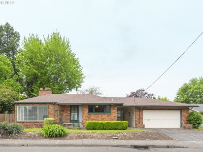 Canby Single Family Home For Sale: 593 S Elm St