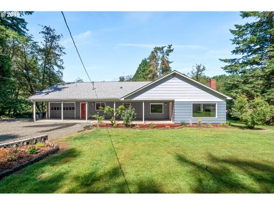 Single Family Home For Sale: 94995 Marcola Rd
