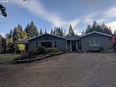 Myrtle Point Single Family Home For Sale: 51998 Big Creek Rd