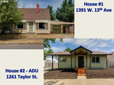 Multi Family Home For Sale: 1261 Taylor St