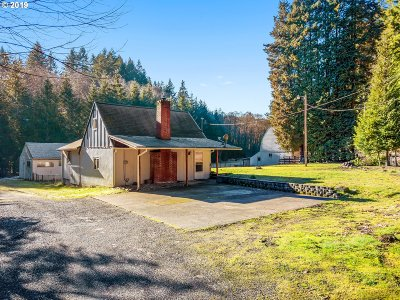 Scappoose Single Family Home For Sale: 27426 Gibbs Rd
