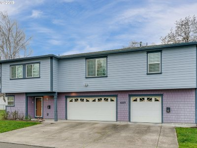 Gresham Multi Family Home For Sale: 457 SE Vista Ave