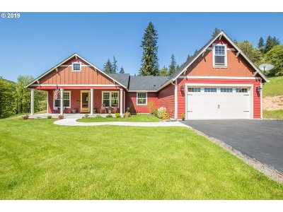 Kalama Single Family Home For Sale: 128 Northshore Rd