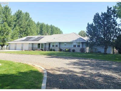 Umatilla County Single Family Home For Sale: 1582 W Elm Ext