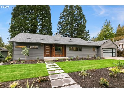 Single Family Home For Sale: 4600 SW Fairview Blvd