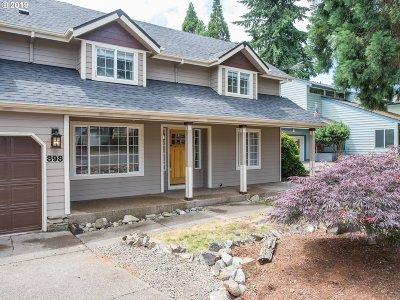 Salem Single Family Home For Sale: 898 Alvina St