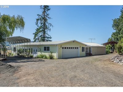 Sutherlin Single Family Home For Sale: 1175 North Side Rd
