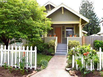Portland Single Family Home For Sale: 3345 NE 76th Ave