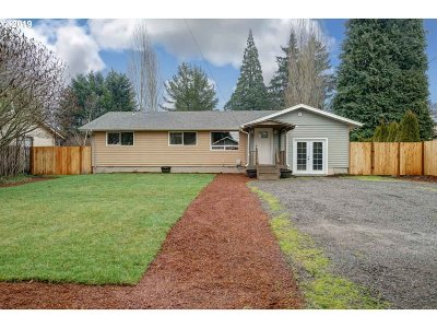 Keizer Single Family Home Sold: 5214 N Chehalis Dr