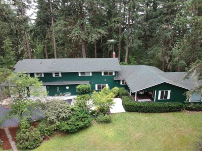 Eugene Single Family Home For Sale: 86419 Bailey Hill Rd