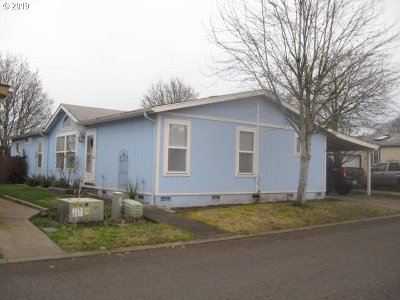 Canby OR Single Family Home For Sale: $104,900