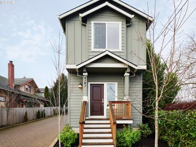 Single Family Home For Sale: 4161 SE 37th Ave