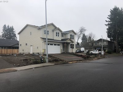 Keizer Single Family Home For Sale: Claggett St NE #Lot 3