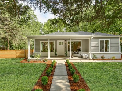 Single Family Home For Sale: 5915 SW Haines St