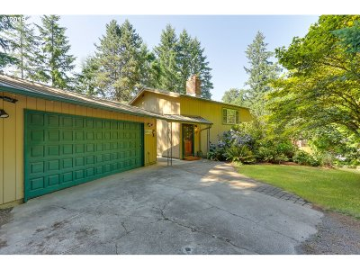 Oregon City Single Family Home For Sale: 17110 S Potter Rd