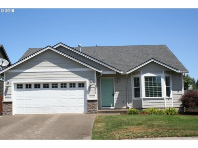 Aumsville Single Family Home For Sale: 9809 Deer St