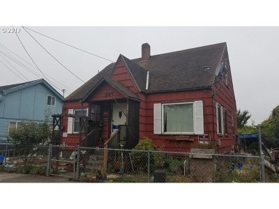 Coquille Single Family Home For Sale: 345 N Baxter