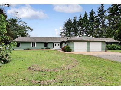 Multnomah County, Clackamas County, Washington County Single Family Home For Sale: 22505 NW Gillihan Rd