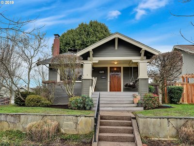 Portland Single Family Home For Sale: 3044 NE 53rd Ave