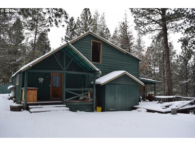 La Pine Single Family Home For Sale: 51992 Old Wickiup Rd