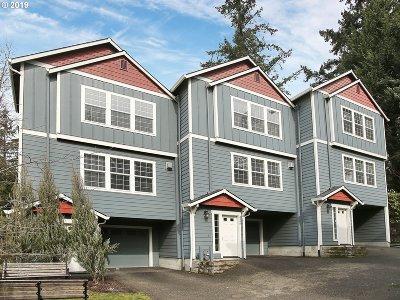 Single Family Home For Sale: 3346 SW Multnomah Blvd