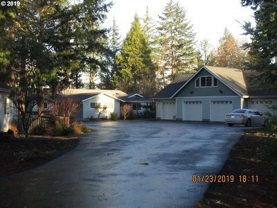 Roseburg Single Family Home For Sale: 4311 Melqua Rd
