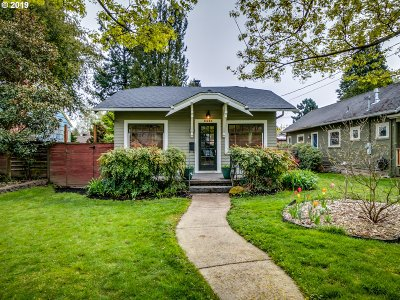 Single Family Home For Sale: 6330 NE 32nd Ave