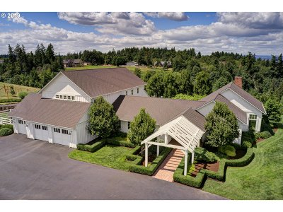 Ridgefield Single Family Home For Sale: 33500 NW 47th Ct