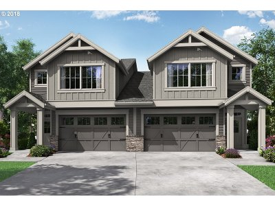 Hillsboro Single Family Home For Sale: 5960 SE Damsk St #Lot39