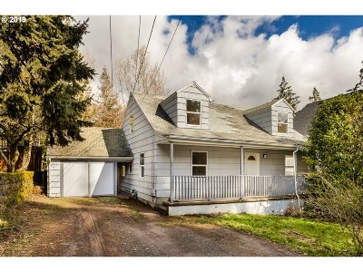Single Family Home For Sale: 3707 SW Baird St