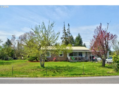 Cottage Grove, Creswell Single Family Home For Sale: 83612 N Harvey Rd