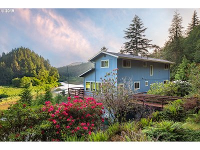 Nehalem Single Family Home For Sale: 17655 Lommen Rd