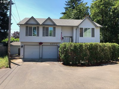Multnomah County Single Family Home For Sale: 4577 SE 105th Ave