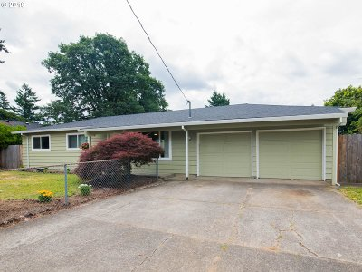 Multnomah County Single Family Home For Sale: 10156 SE Pardee St