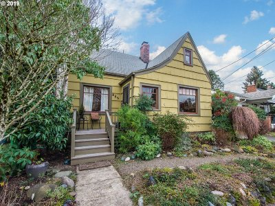 Single Family Home For Sale: 4821 NE 14th Ave