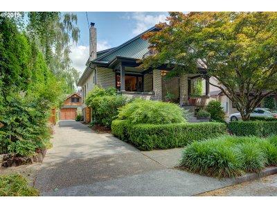 Portland Single Family Home For Sale: 1812 NE 25th Ave