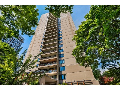 Portland Condo/Townhouse For Sale: 255 SW Harrison St #2G