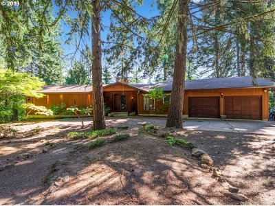 Clackamas County Single Family Home For Sale: 30880 SW River Lane Rd