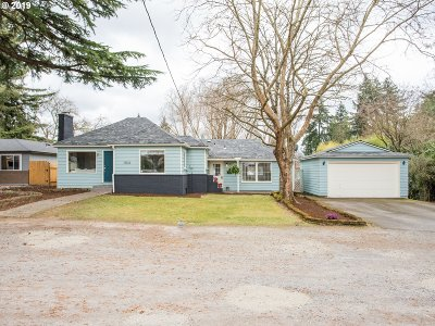 Single Family Home For Sale: 13022 SE 21st Ave