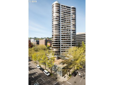 Multnomah County Condo/Townhouse For Sale: 1500 SW 5th Ave #704