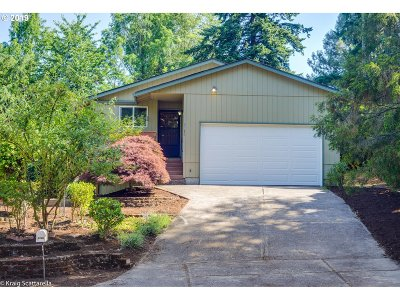 Portland Single Family Home For Sale: 8130 SW Glencreek Ct