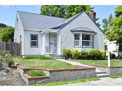 Single Family Home For Sale: 4615 NE 40th Ave