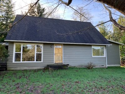 Coos Bay Single Family Home For Sale: 66368 Sunshine Rd