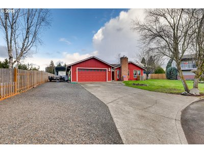 Canby Single Family Home For Sale: 1228 S Elm Ct