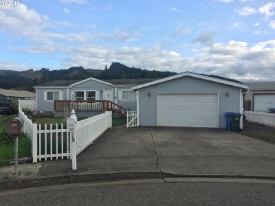 Sutherlin Single Family Home For Sale: 164 Rainbow Ct