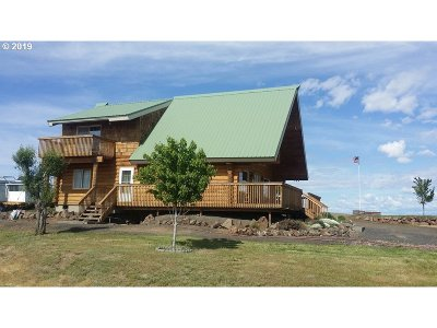 Umatilla County Single Family Home For Sale: 41524 Main St