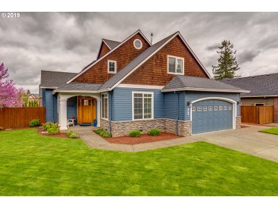 Canby OR Single Family Home For Sale: $494,900