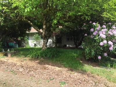 Mapleton Single Family Home For Sale: 87507 Rice Rd