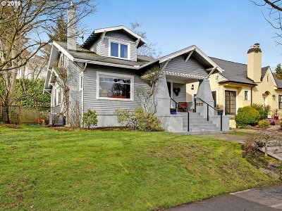 Portland Single Family Home For Sale: 631 NE 43rd Ave